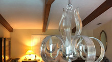 Crystal chandelier for new Home