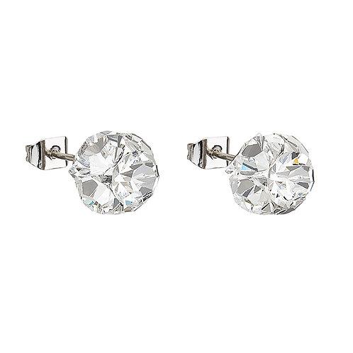 Small Ball  - Earrings - crystal