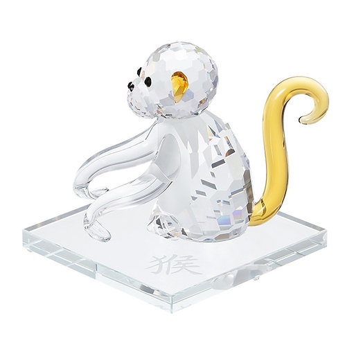 Crystal collection of miniature. Monkey. Chinese zodiac. 1386 61