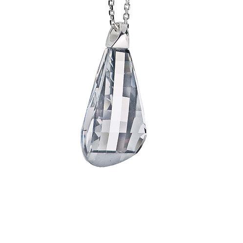Pleione  - Pendant Ag 925/Rh - crystal