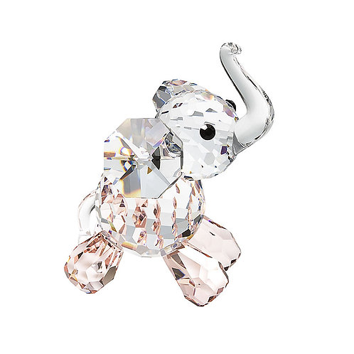 Gift. Crystal miniature. Elephant Calf pink. 1193 00
