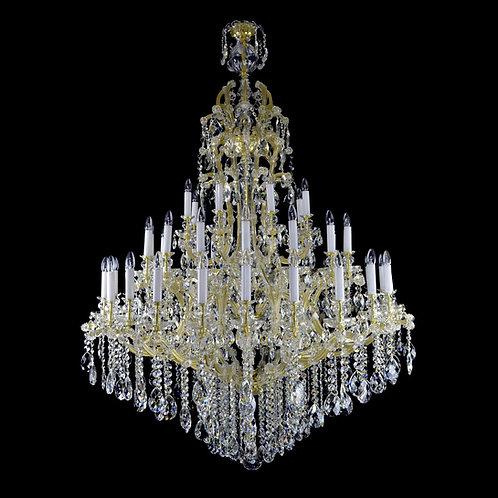 SuperLarge crystal chandelier Maria Teresa WR