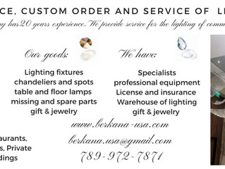 Lighting installation services for Home.
