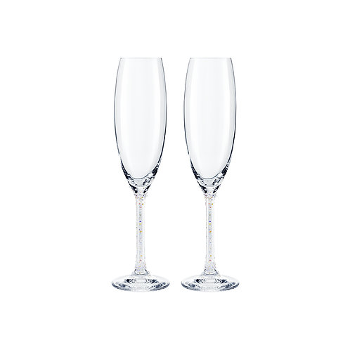 Champagne glasses. Set of two. 1479 42
