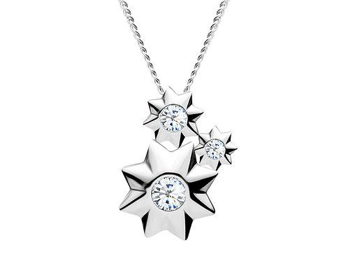 Pendant Orion Colorless cubic zirconia diamond Silver Ag925/Rh 5245 00