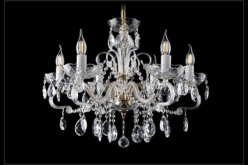 Chandelier clear crystal L166/6/01silver