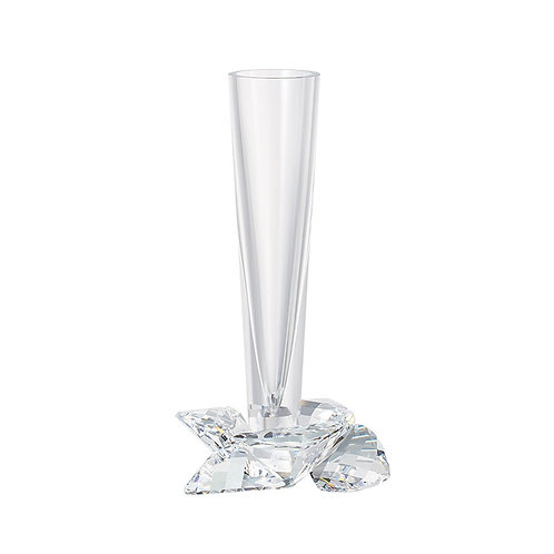 Vase. Small. Crystal Rose.