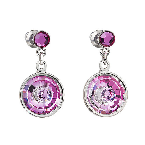 Livia - Earrings - fuchsia