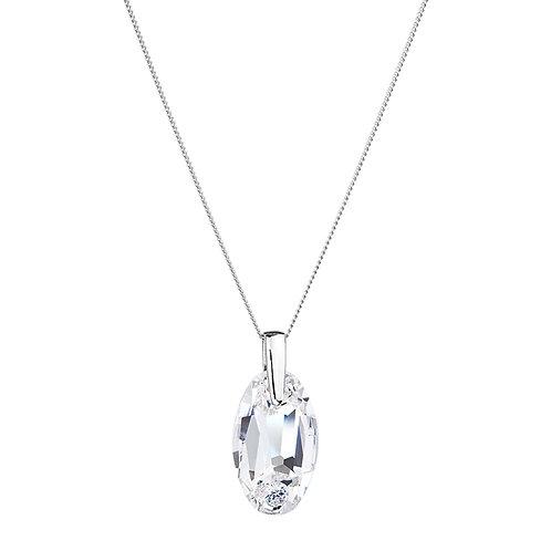 Pendant Gentle Caress silver Ag 925/Rh  clorless crystal