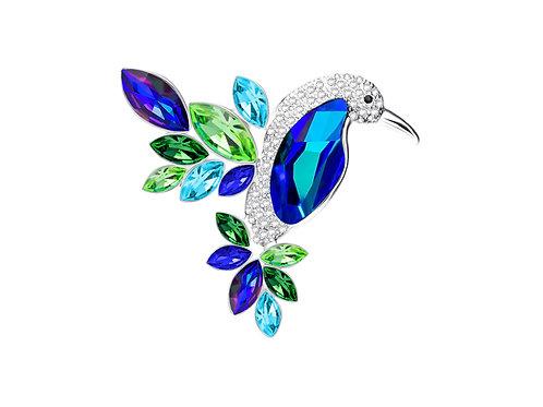 Brooch Hummingbird
