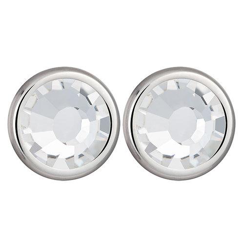 Earrings Magical Spark Silver Ag 925/Rh clear crystal