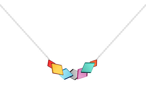 Necklace Fragmentum Combination of colors