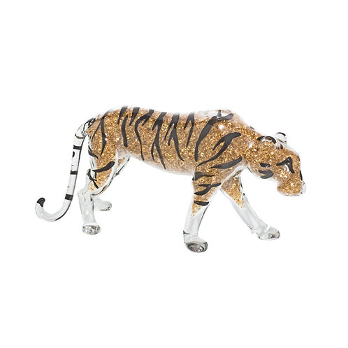 Figurine of Bengal Tiger from crystal. 1157 61