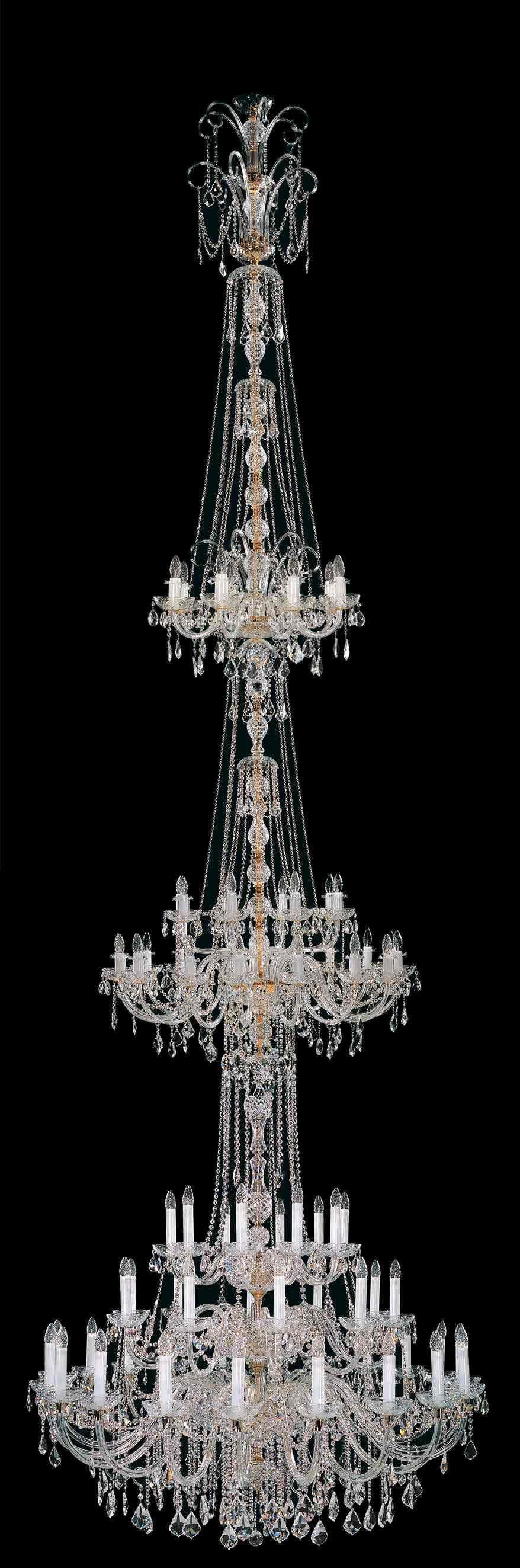 Large and oversized chandelier from the for church, lobby, entryway and yet Berkana USA