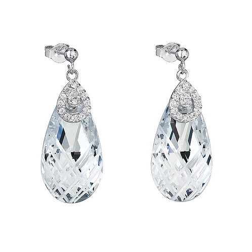 Perfect Brilliance - Earrings Ag 925/Rh - crystal
