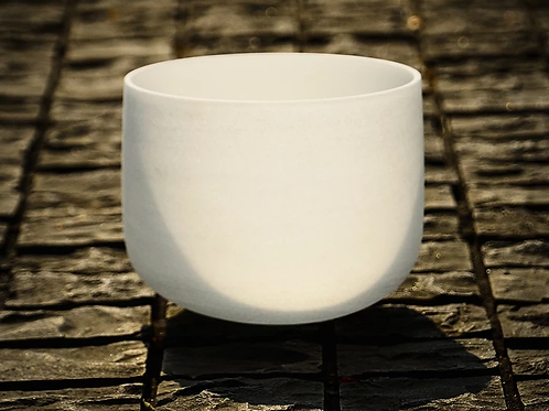 10 inch Crystal Singing Bowls
