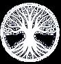 Waking Life Tree Logo White transparent.