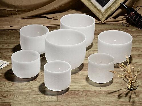 Crystal Singing Bowls - Chakra Sets of 7