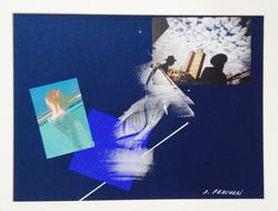Desideri senza confini 2006-2015 collage e acrilico su cartoncino cm 30x40b