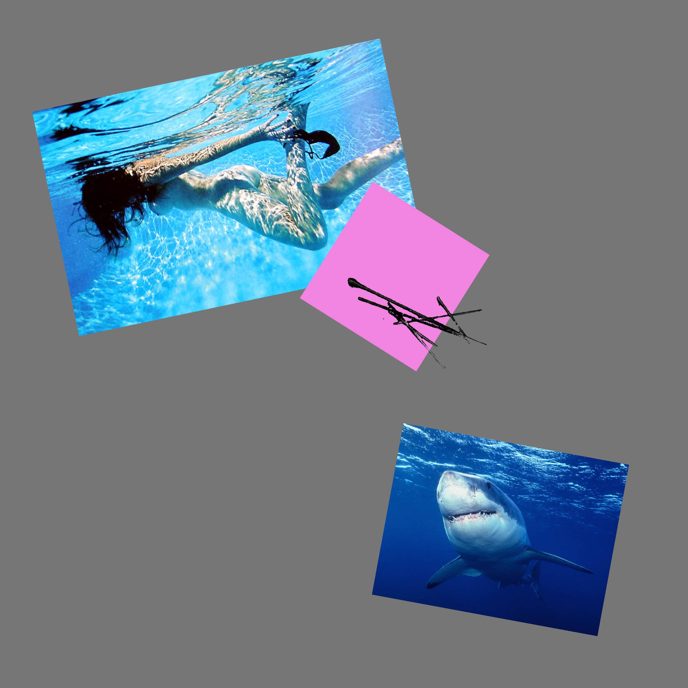 Destini incrociati, 2015, Digital   fine art e timbri su tela, cm 60x60