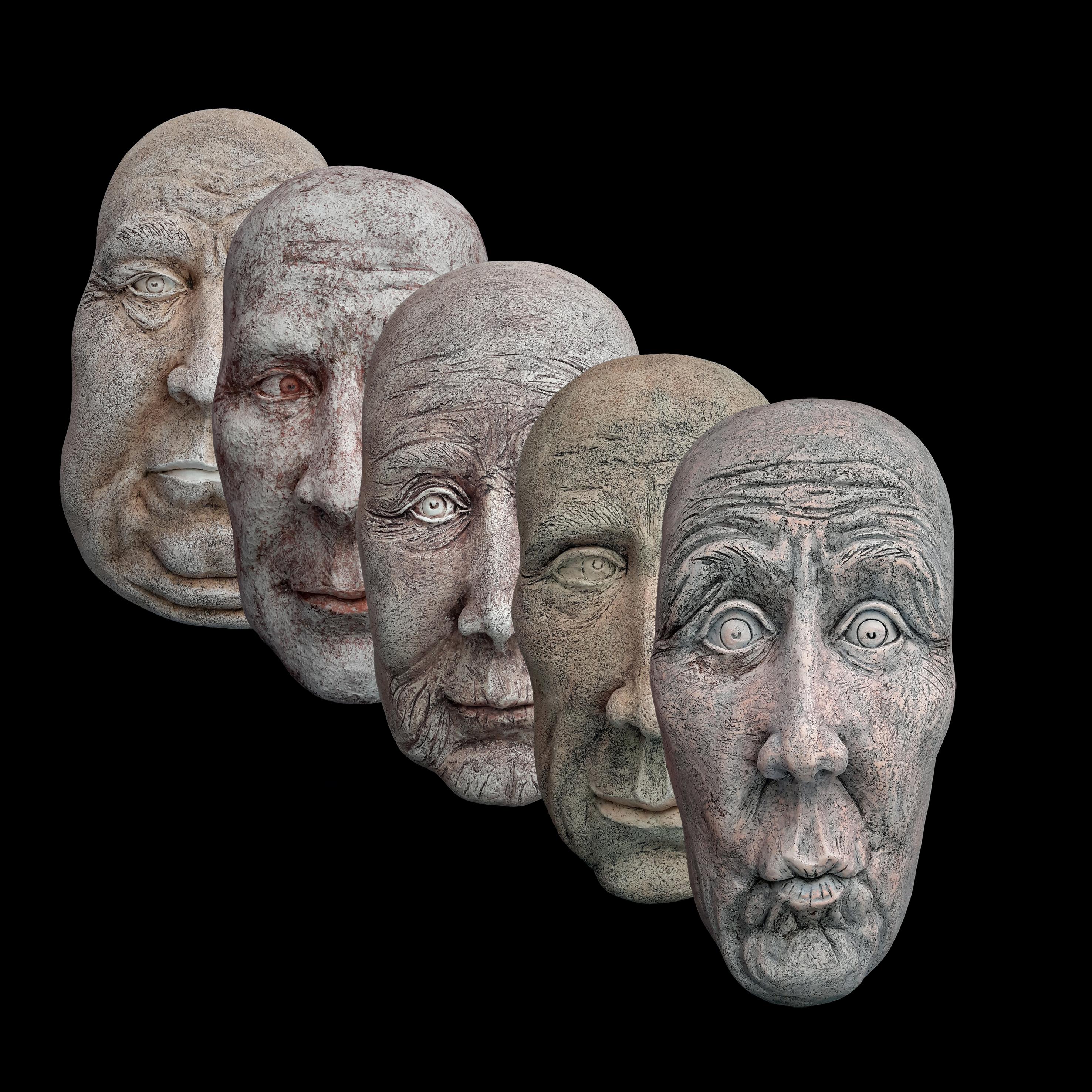 Facce e maschere | 2019