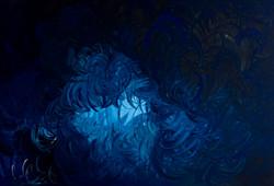 Nel giardino di notte 2009 acrilico su tela 80x120