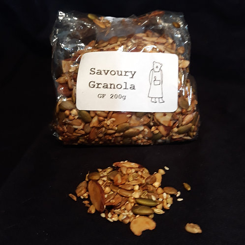 'Not for Breakfast' savoury granola, 200g