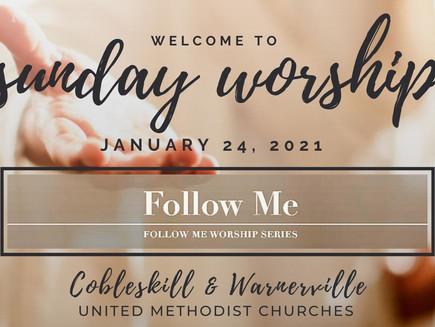 Sermon: Follow Me