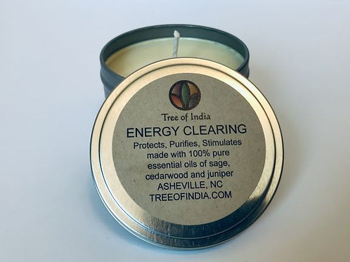 Energy Clearing Candle (8 oz)