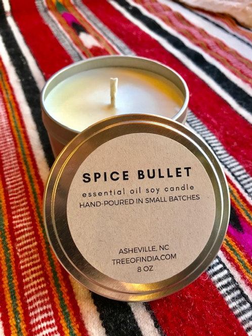 Spice Bullet Candle (8 oz)