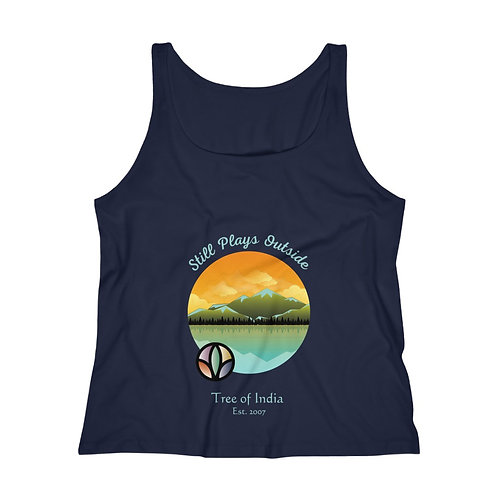 """Plays Outside"" Relaxed Tank"