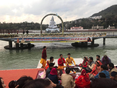 Aarti on the Ganges, Rishikesh