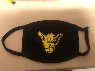 Alpha Phi Alpha 2ply mask with filter pocket  shipping free