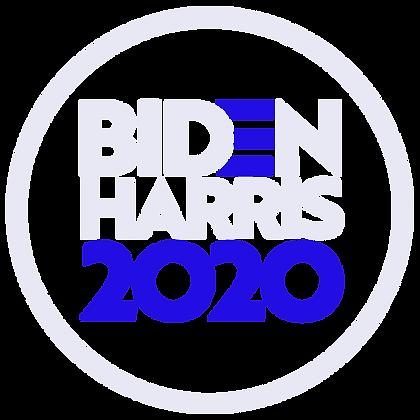 Biden/Harris 2020 White, Black and Blue