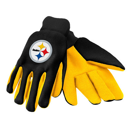 Officially Licensed Pittsburgh Steelers W/k Gloves
