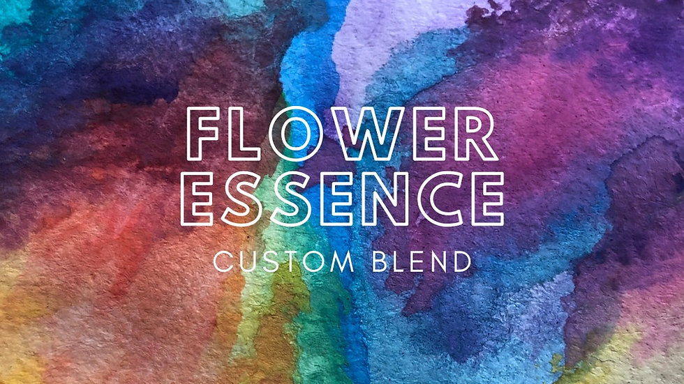 Custom Flower Essence Blend