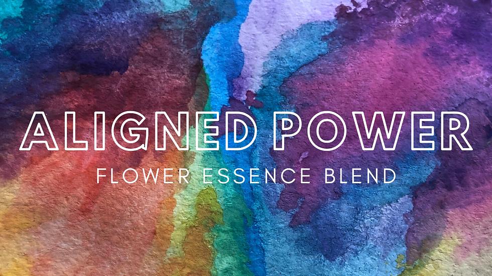 Aligned Power Flower Essence