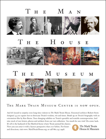 Mark Twain House Advertising
