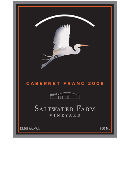 Saltwater Farm Wine Label