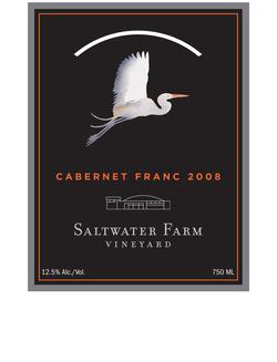 Saltwater Farm Wine Label