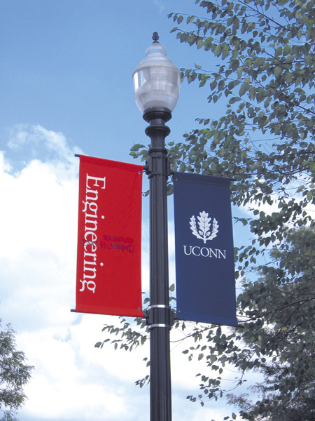 University of Connecticut Banners