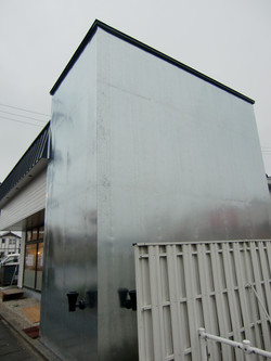 デザイン壁 亜鉛鉄板0.6mm