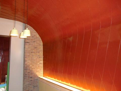 飾り壁 ひし葺き