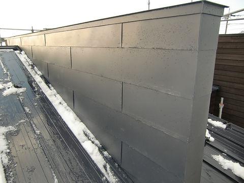 壁 飾り壁 一文字葺き