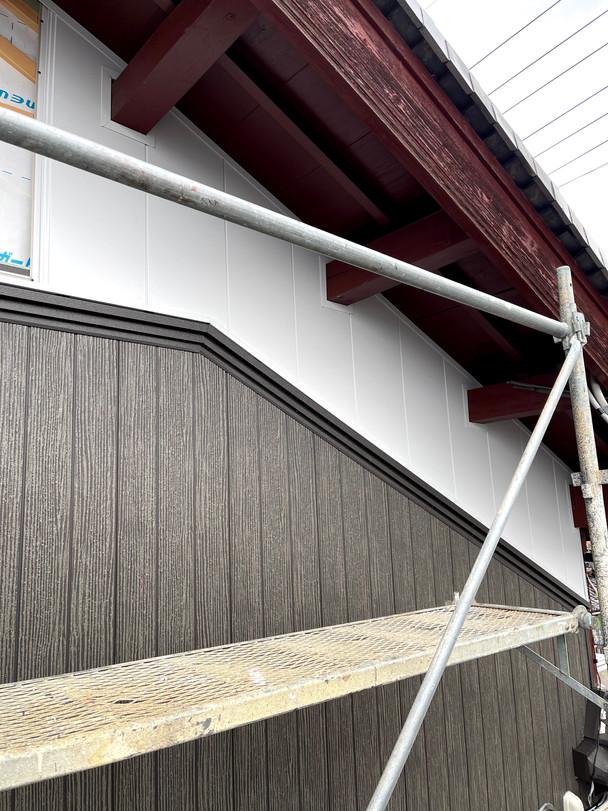 外壁リフォーム 金属サイディング
