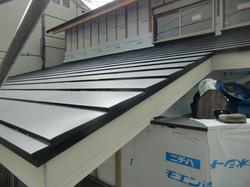金属横葺き屋根