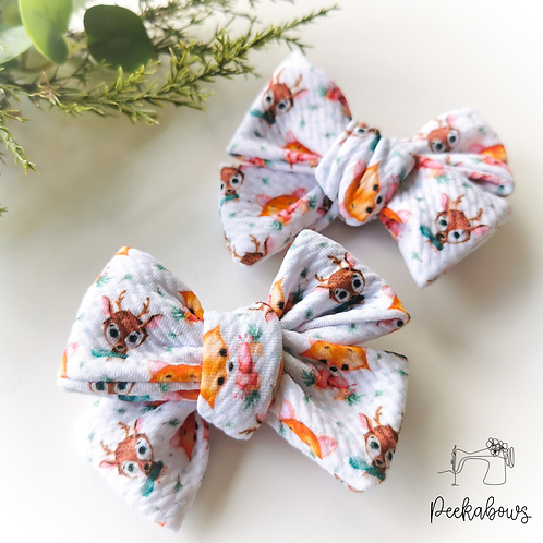 Festive Hand Tied Bows