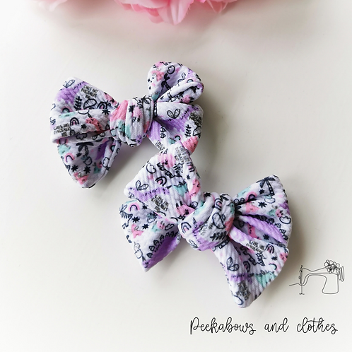 Dino Hand Tied Bows