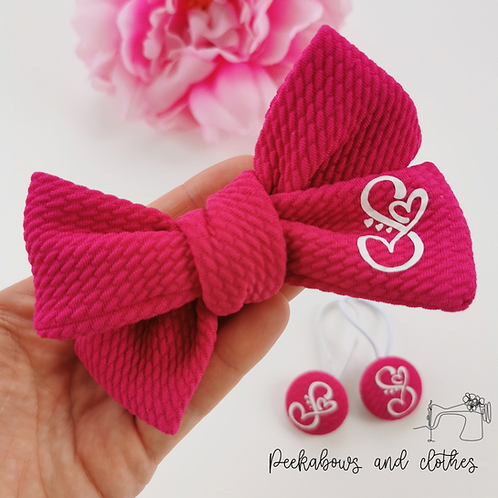 Personalised Hand Tied Bows