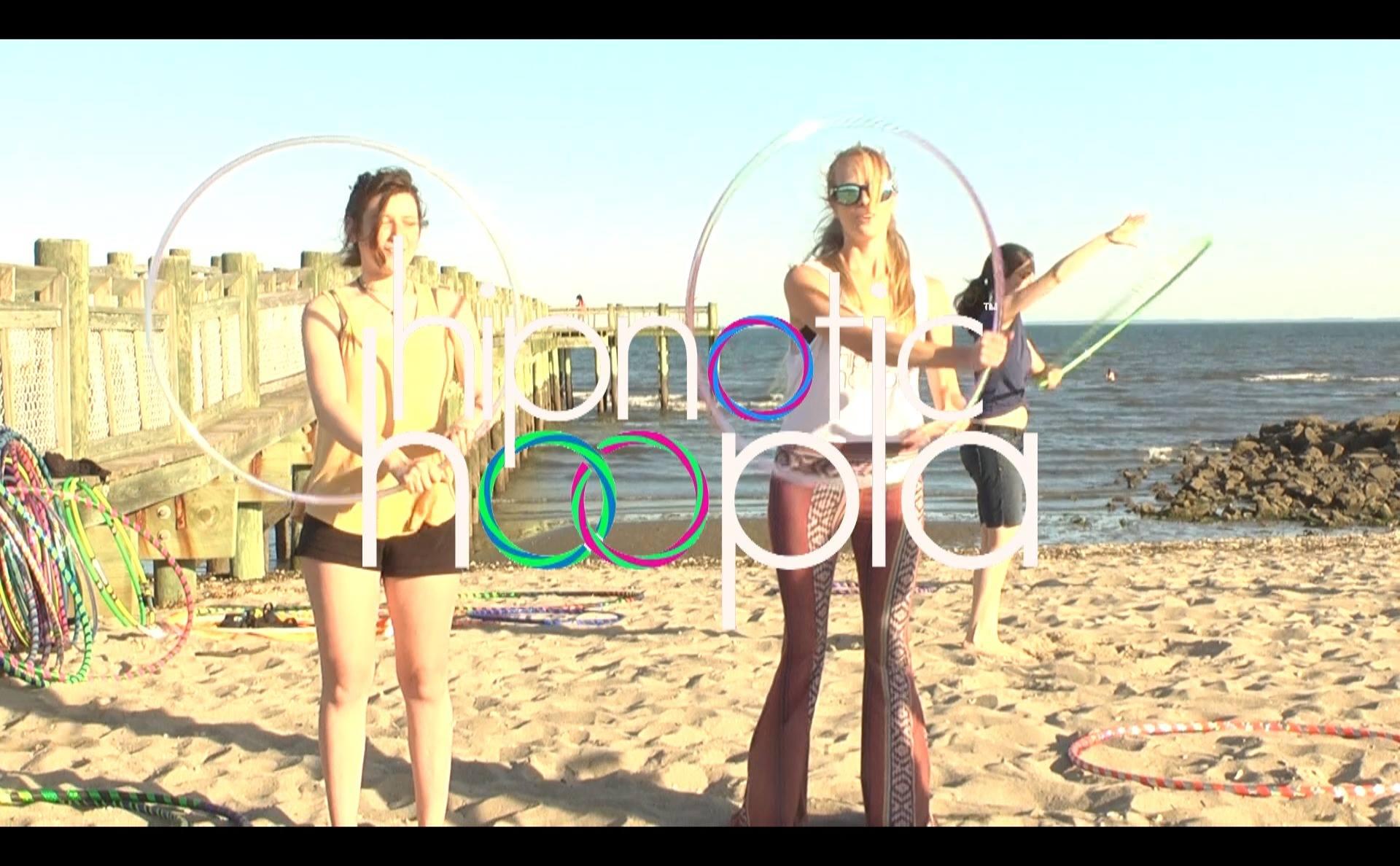 Hoop Dance Beach Class